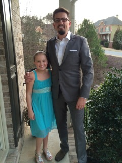 Heading to a dance!